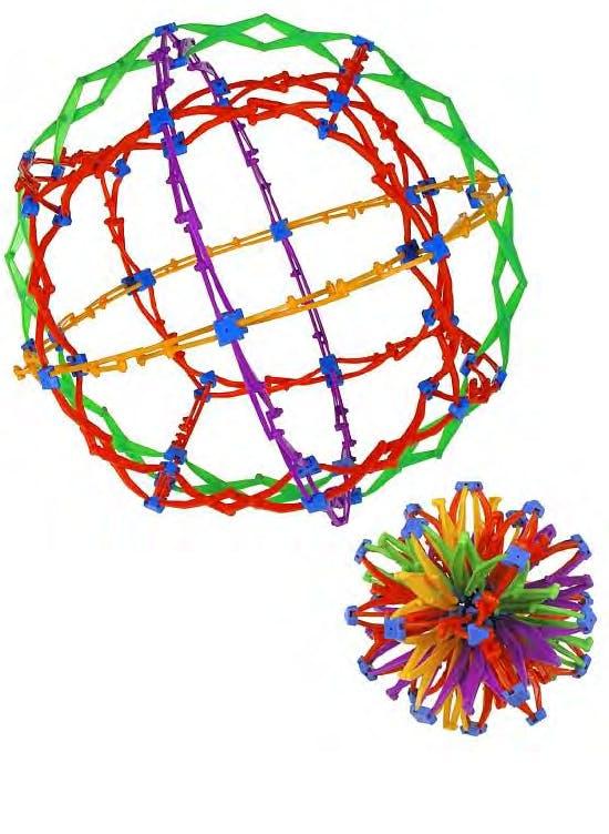 Hoberman sphere, Courtesy Fondazione Achille Castiglioni
