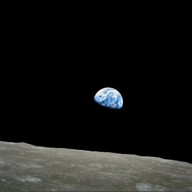 From the Moon Cover © NASA