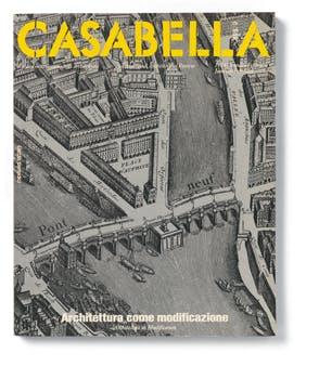 """""""Architettura come modificazione"""", Casabella 498-499, January-February 1984, editor-in-chief Vittorio Gregotti"""