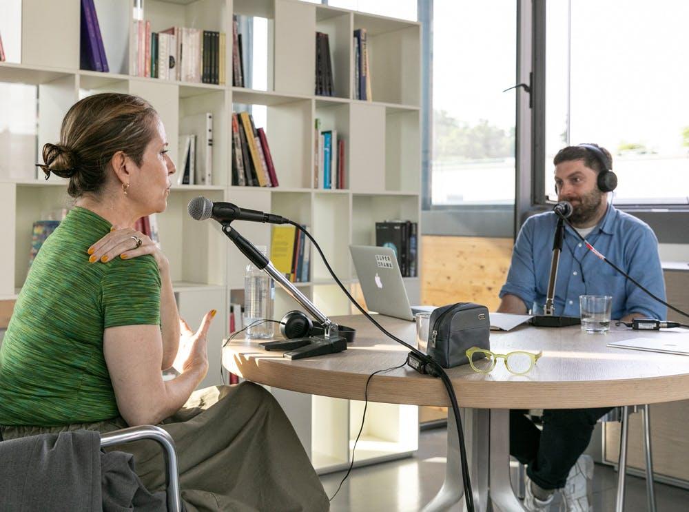Paola Antonelli e David Plaisant