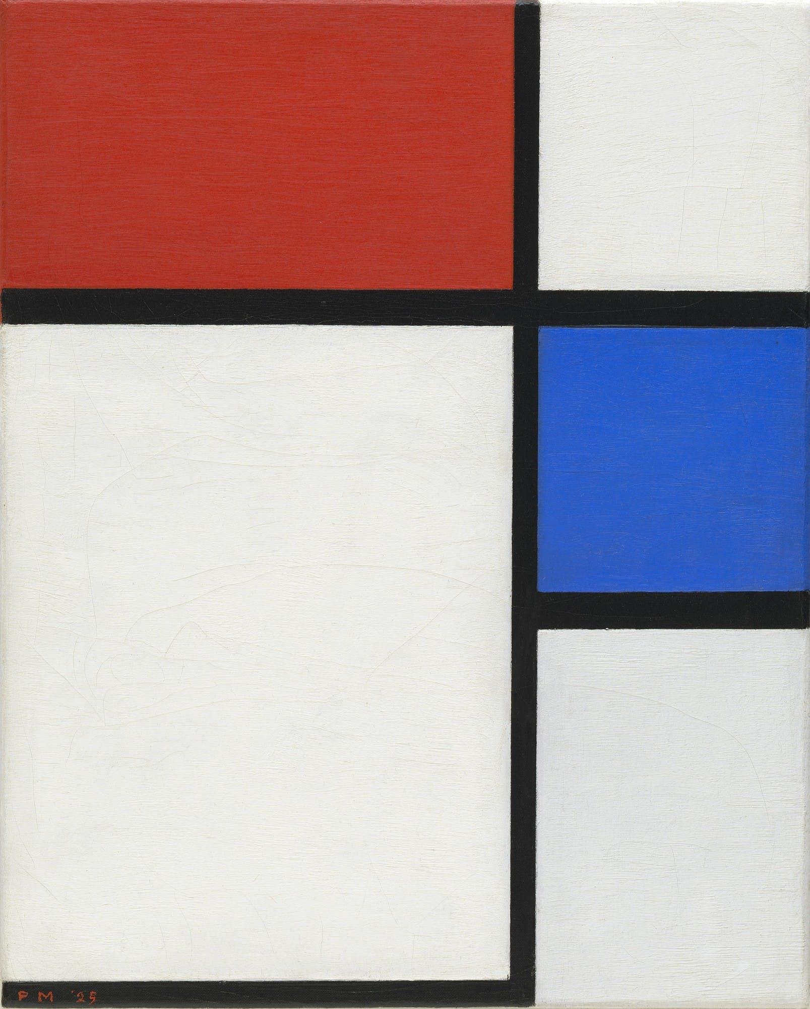 Mondrian , © MoMA
