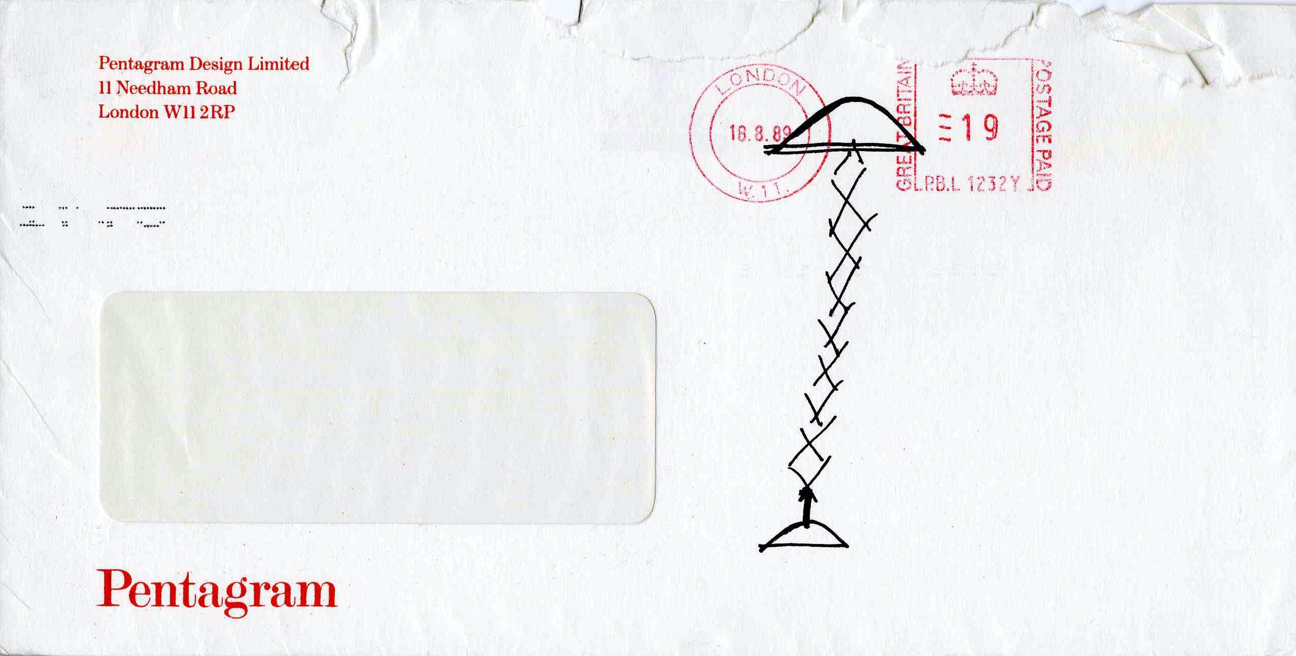 Broomstick, Alias, 1979 (lampada mai realizzata) © Archivio Studio Magistretti – Fondazione Vico Magistretti