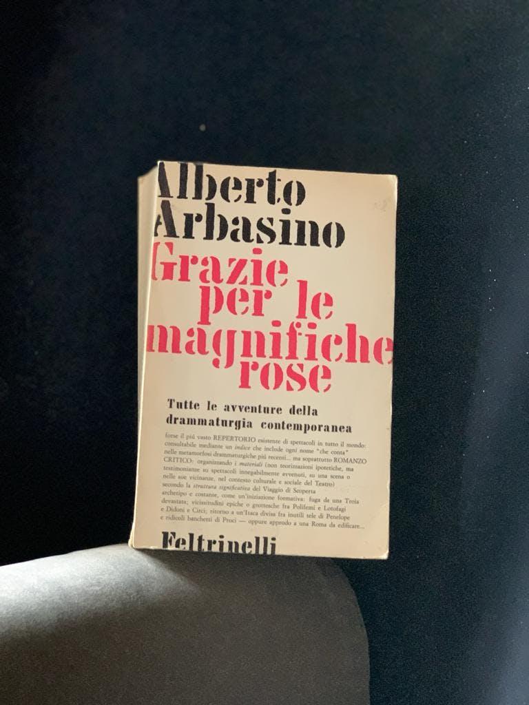 Alberto Arbasino, Grazie per le magnifiche rose, Feltrinelli, 1965