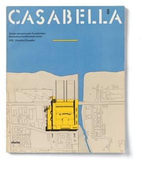 Casabella 486, December 1982, editor-in-chief Vittorio Gregotti
