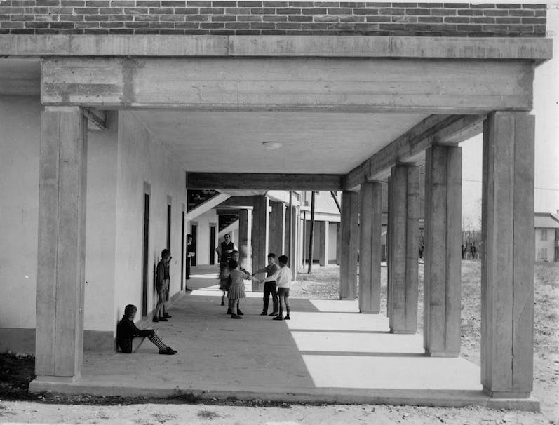 Quartiere Spine Bianche, Matera, 1959