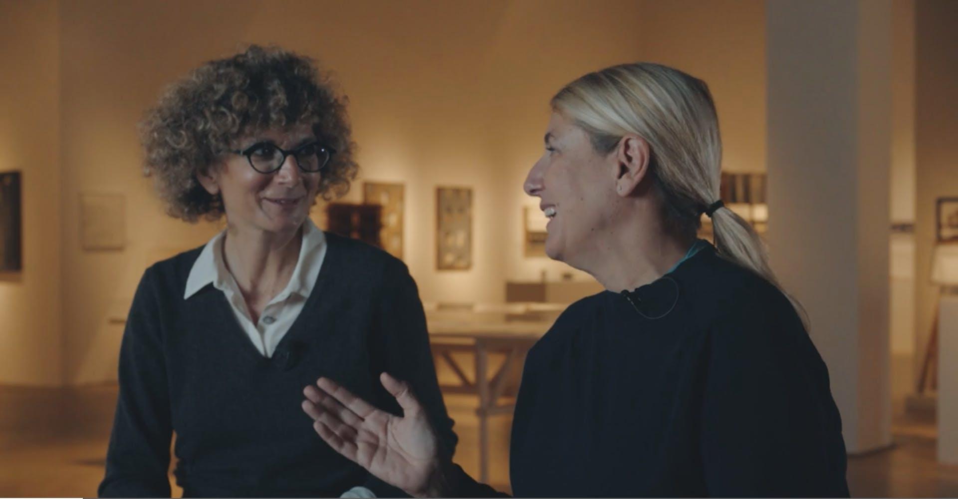 Fermo immagine da As seen by – Ep. 1 – Patricia Urquiola, 2021, regia di Jacopo Farina