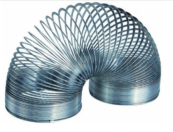 Spirale Slinky, Courtesy Fondazione Achille Castiglioni