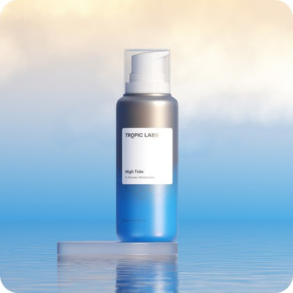 Product Spotlight High Tide In-Shower Moisturizer: Why You Need a Wet Skin Body Lotion