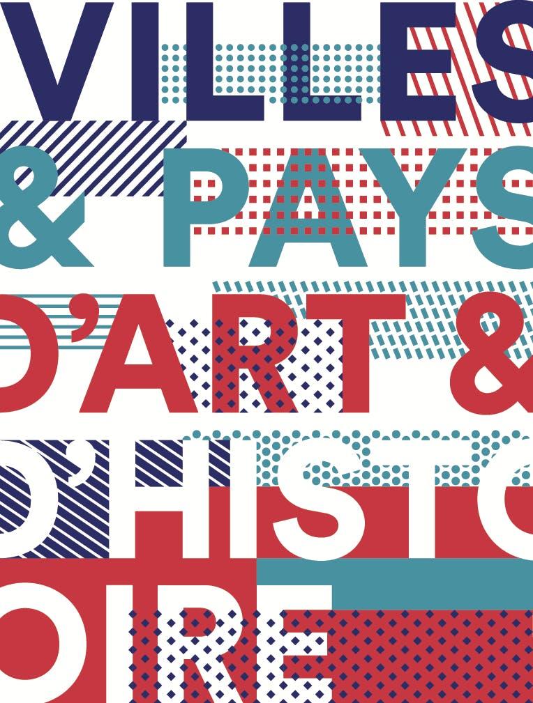 Villes et Pays d'art et d'histoire Logo - Tropical Drawing Parter