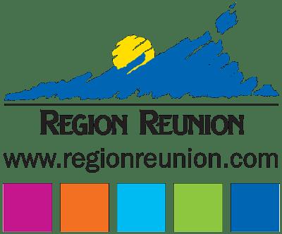 Region Reunion Logo - Tropical Drawing Parter