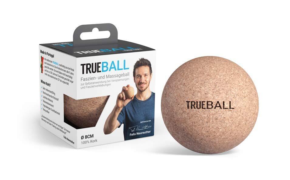 Der neue nachhaltige Faszienball von TRUETAPE: TRUEBALL