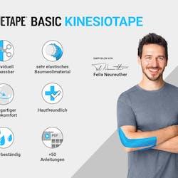 Truetape Basic Uncut Blue