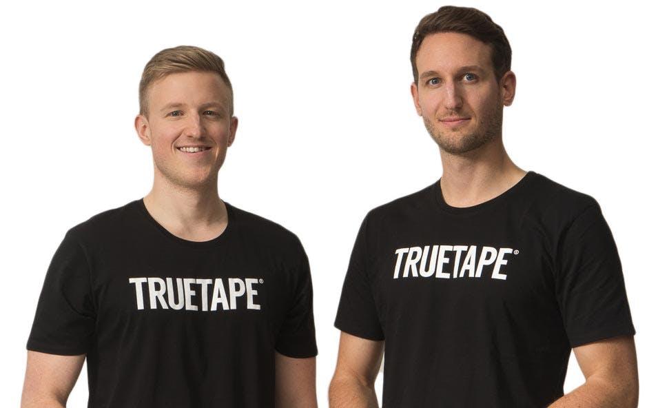 Fabian und Dominik - die Gründer von Truetape