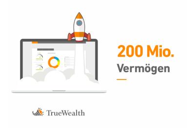 3000+ Kunden und 200 Mio. Vermögen