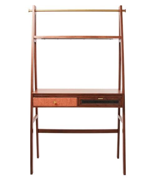 A framed desk from Oliver Bonas.