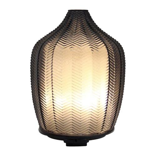 A lantern with a soft glow.