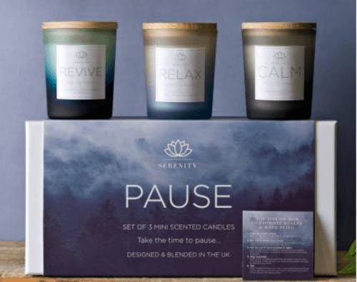 Cancer Research Candle Set