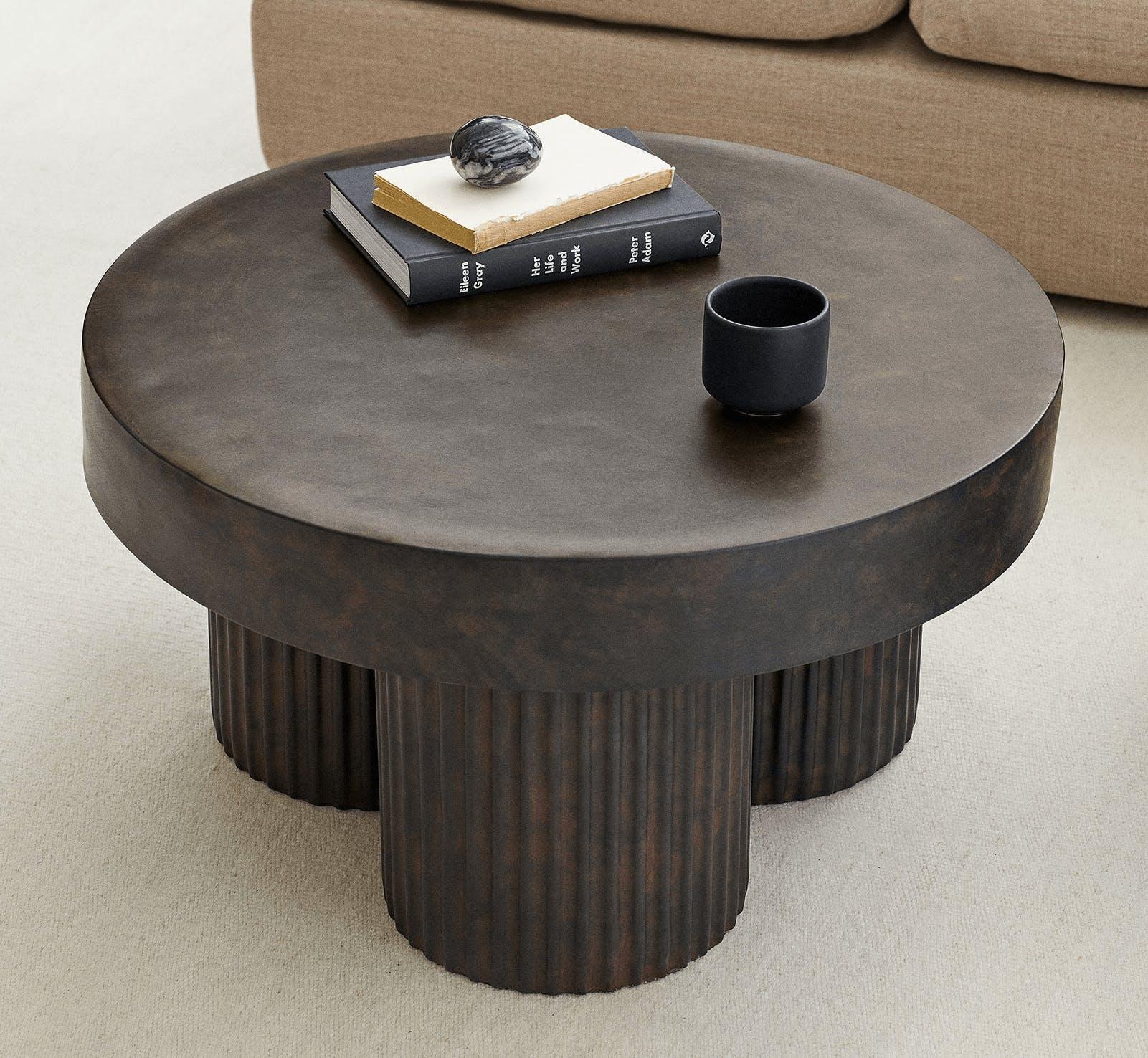concrete fibre coffee table