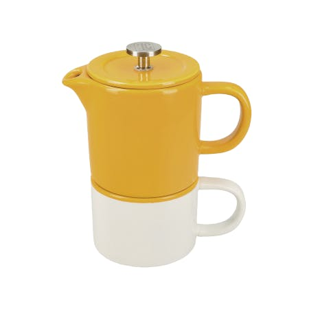 coffee for one stackable cup and cafetière set