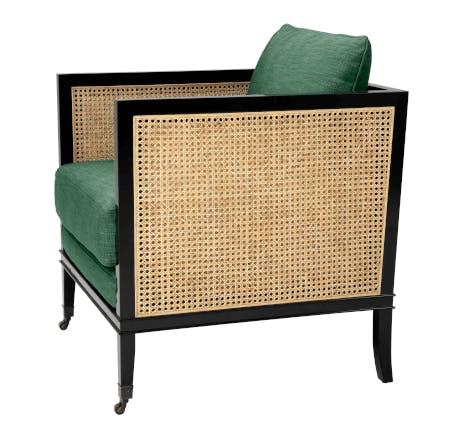 rattan Art Deco chair