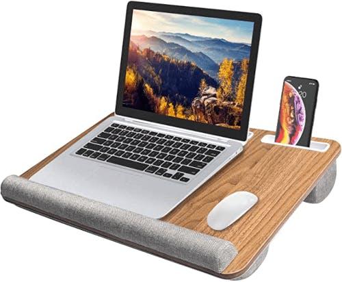 A laptop tray