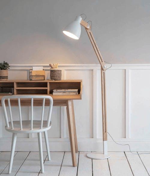 A floor lamp from Garden Trading