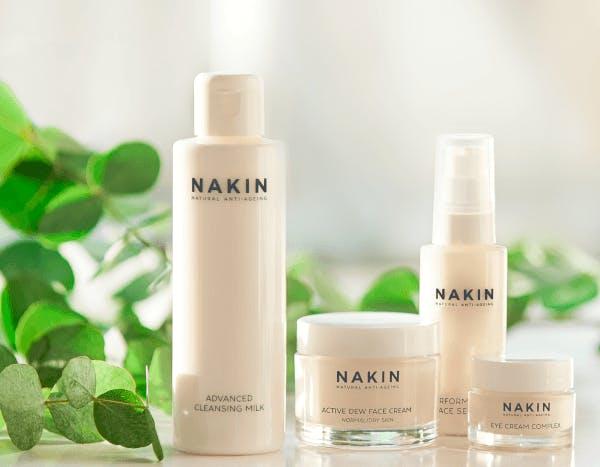 Nakin skincare range