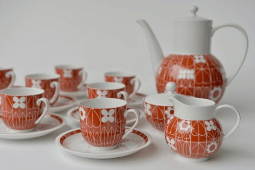 8-piece coffee set