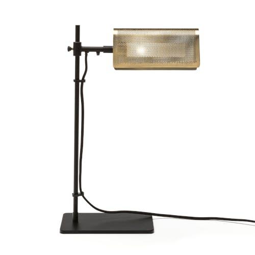 A metal desk lamp from La Redoute.