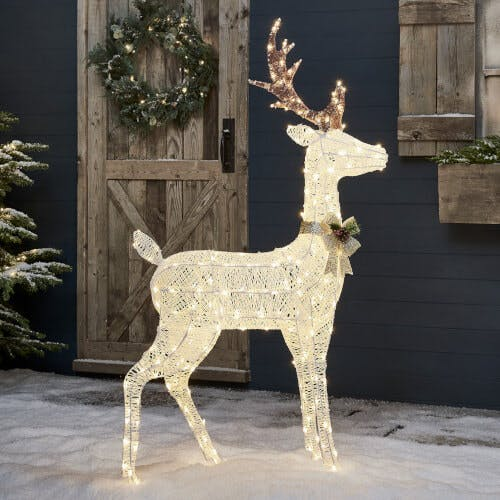 outdoor stag light