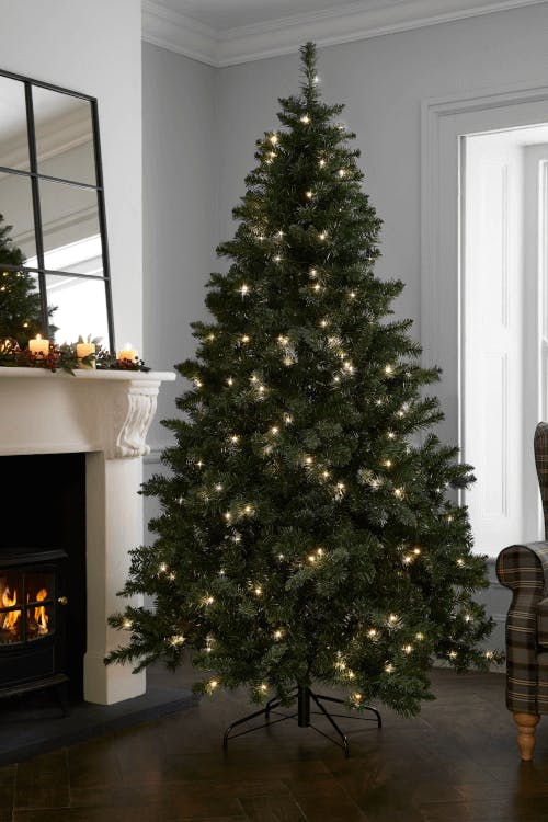pre-lit 7ft forest pine tree