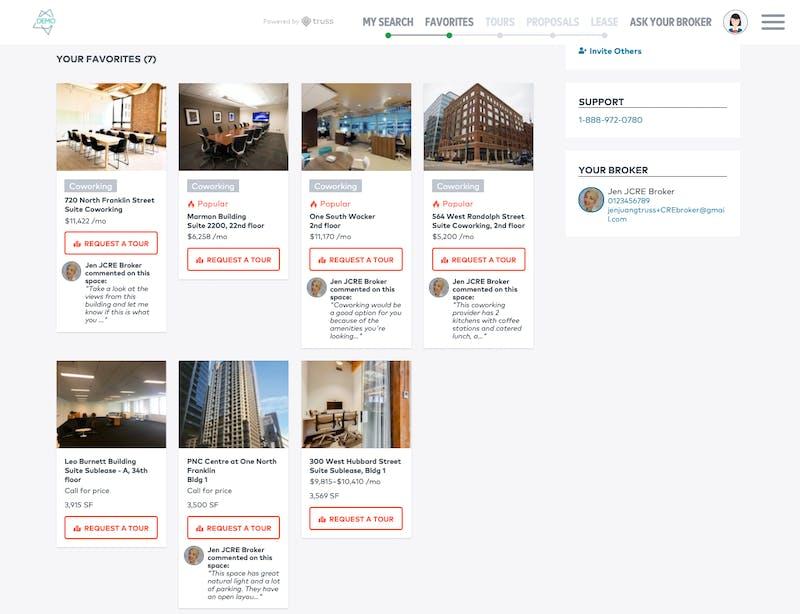 TrussCRE project screenshot