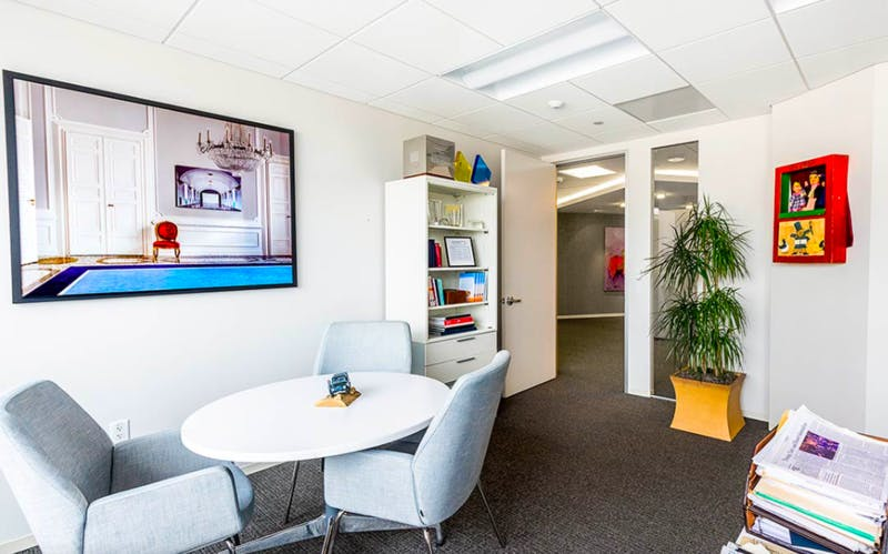AdvantEdge Workspaces in Chevy Chase private office