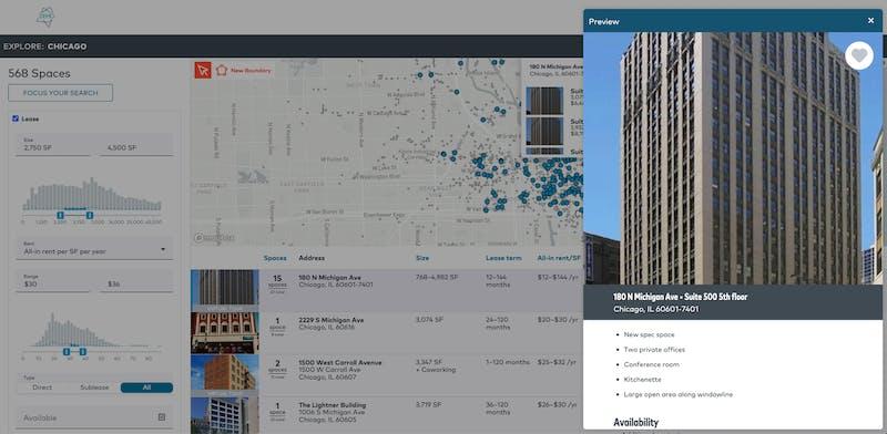 TrussCRE market explore screenshot