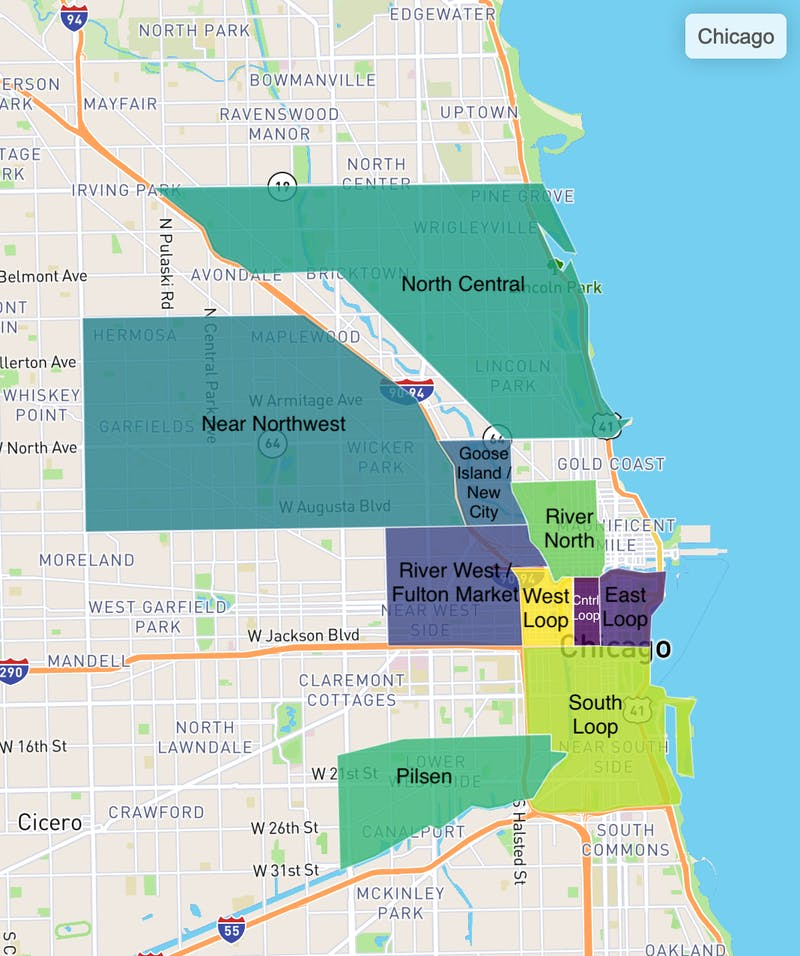 Truss tenant favorites in Chicago