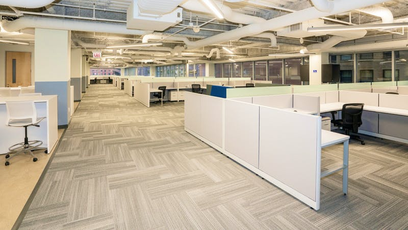 Expansive office space for M1 Finance in the Chicago Loop