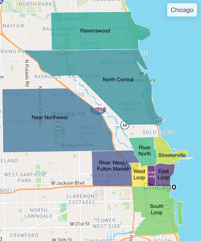 Truss tenant search preferences in Chicago