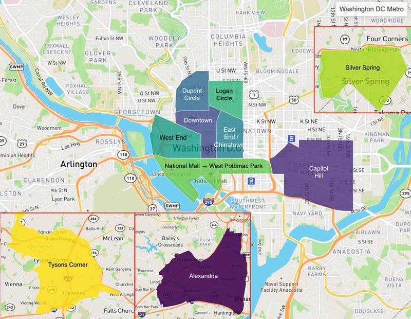 Truss tenant search preferences in Washington, D.C. area