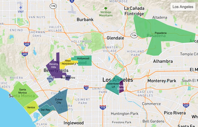 Truss tenant favorites in Los Angeles
