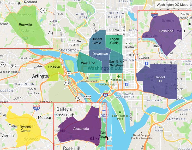 Truss tenant favorites in Washington, D.C. area