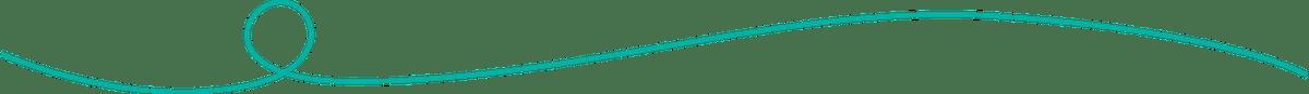 A green divider line