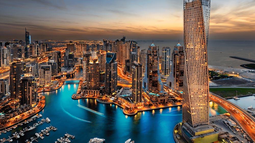 Zeevracht Dubai