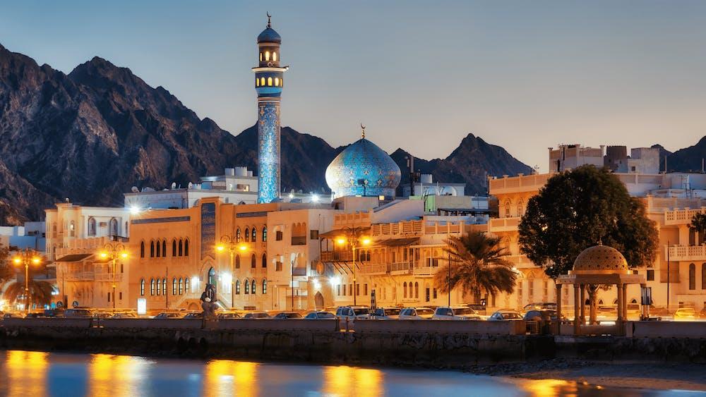 Zeevracht Oman