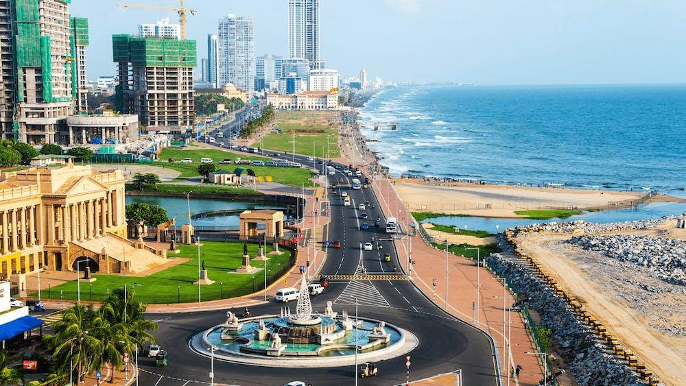 Zeevracht Sri Lanka