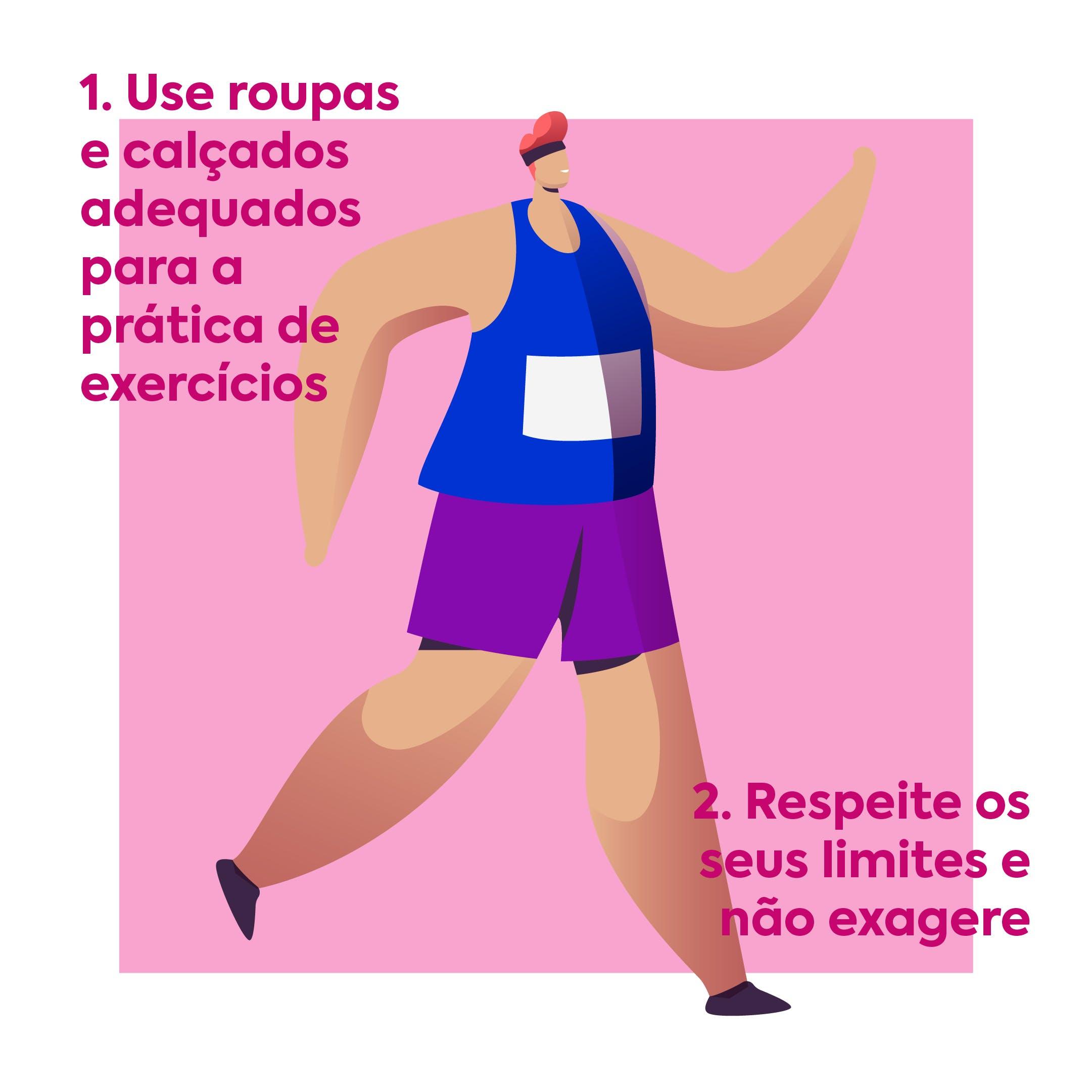 cuidados ao se exercitar em casa