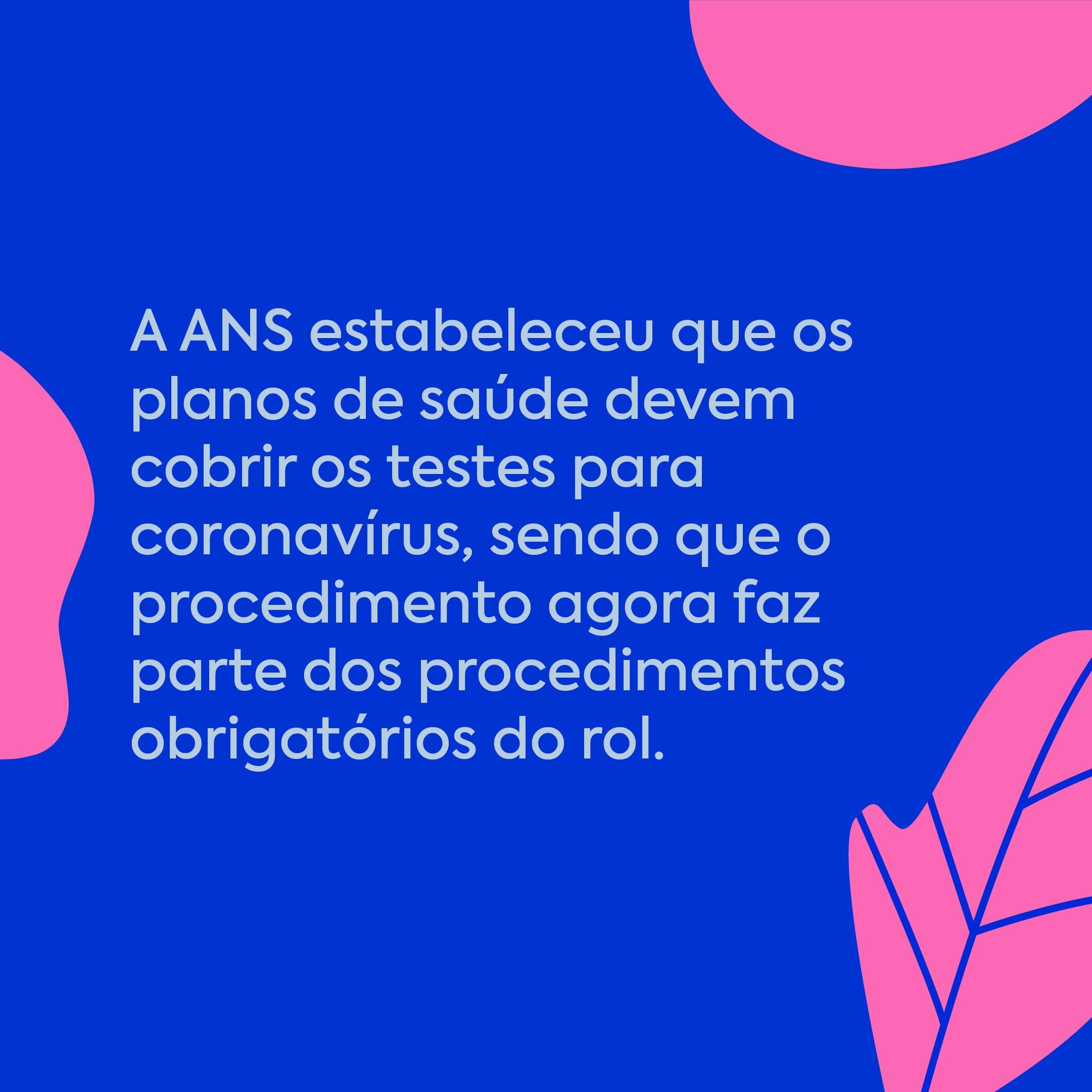 plano de saúde cobre teste para coronavirus