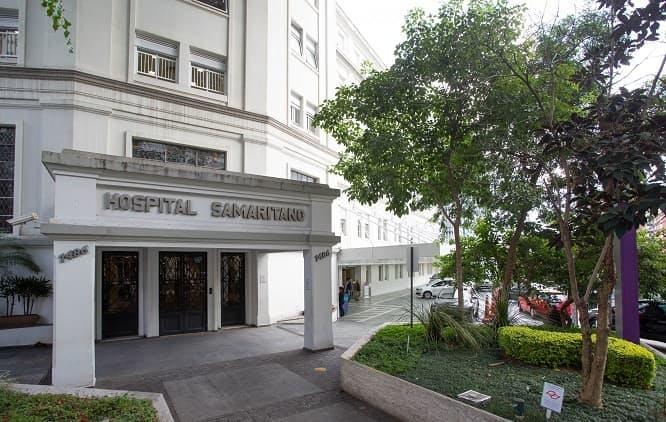 Fachada Hospital Samaritano