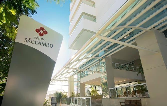 Fachada Hospital São Camilo