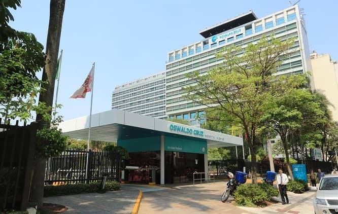 Fachada Hospital Oswaldo Cruz