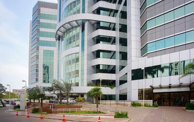 Fachada do Hospital Vitória, pertencente à rede própria da Amil